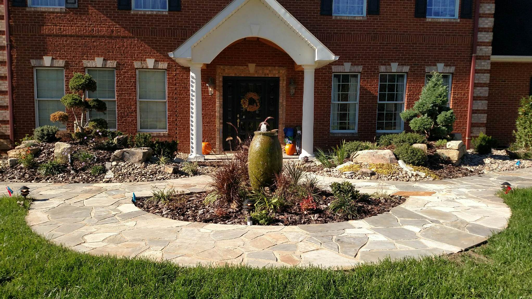 Landscaping | Minks Outdoor Professionals • Oak Hill Gardens ...